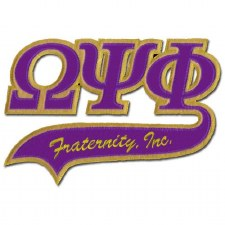 Omega Psi Phi Tail Patch