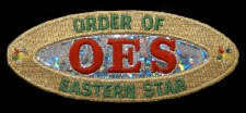 Order of the Eastern Star Holographic Patch