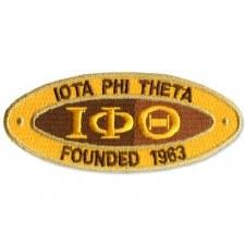 Iota Phi Theta Oval Founded Patch