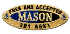 Mason Oval Founded Patch