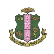 Alpha Kappa Alpha Crest Patch