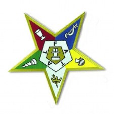 Order of the Eastern Star Crest Patch