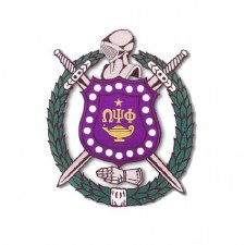 Omega Psi Phi Crest Patch