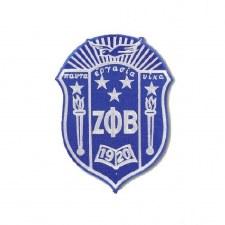 Zeta Phi Beta Crest Patch