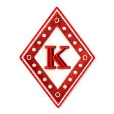 Kappa Alpha Psi Diamond K Patch