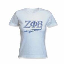 Zeta Phi Beta Tail & Year Tee