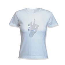 Zeta Phi Beta Greek Hand Tee