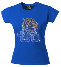 Tennessee State University Rhinestone Tiger Tee