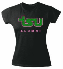 Tennessee State University Glitter Tee