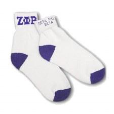 Zeta Phi Beta Fold Socks
