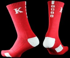 Kappa Alpha Psi Year Crew Socks