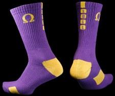 Omega Psi Phi Year Crew Socks