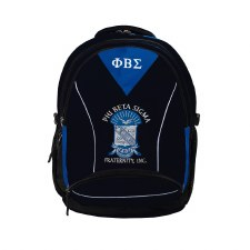 PBS Embroidered Commuter Backpack