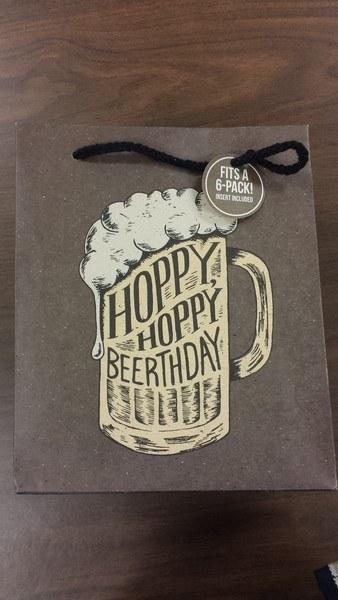 Hoppy Beerthday Bag - 6btl