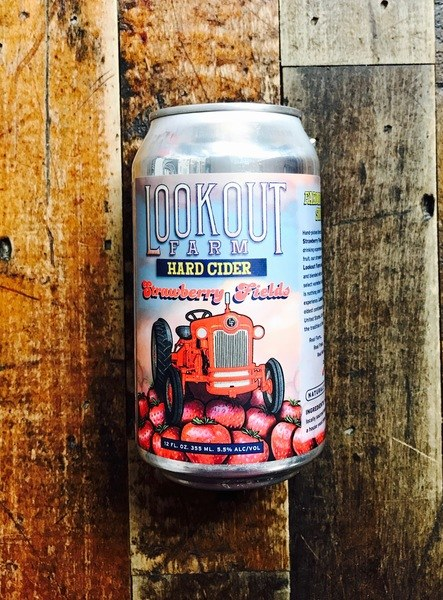 Lookout Strawberry - 16oz Can