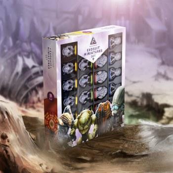 Anachrony Exosuit Miniatures St Board Game