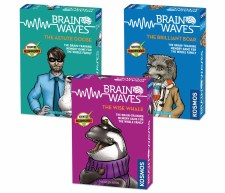 Brain Waves The Astute Goose Board Game