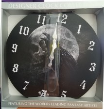 Raven's Curse Clock
