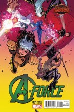 A-Force #1 Dauterman Var Swa