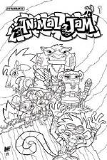 Animal Jam #1 Cvr D Coloring Book Cvr