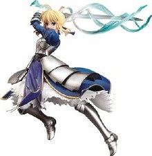 Fate Stay Night Saber 1/7 PvcFig Triumphant Excalibur Ver (