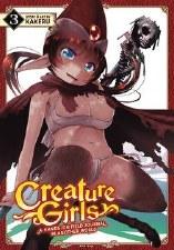 Creature Girls Hands On Field Journal World GN Vol 03 (MR)