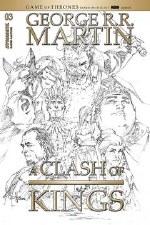 A Clash Of Kings #3 1:20 Rubi B&W Incv, George RR Martin