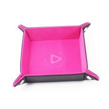 Dice Tray Pink, Velvet Folding