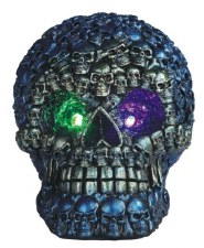 Skull of Skulls, Blue LED