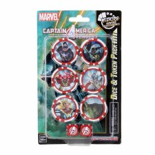 HCX Cap America & Avengers Dice & Token Pack