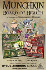 Munchkin Board of Health Exp for M. Cthulhu & M. Zombies
