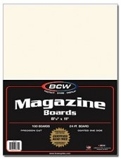 BCW Comic Boards - Magazine Pack (100)