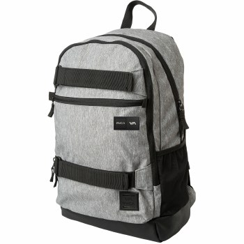 RVCA CURB BACKPACK HEATHER GREY