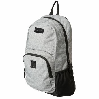 RVCA GREY HEATHER ESTATE BACKPACK II