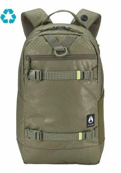 Nixon Olive Dot Camo Ransack Backpack