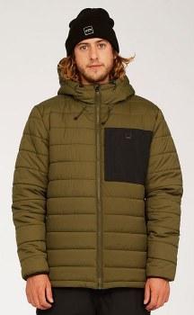 Billabong Journey Long Sleeve Hooded Puffer Jacket