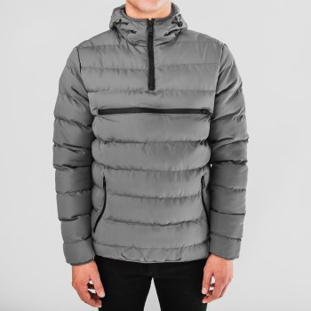 PX Puffer Pullover Hooded Jacket