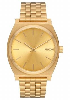 NIXON Time Teller 37mm in Goldtone