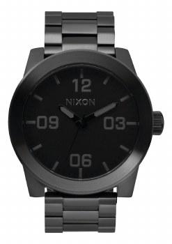 NIXON CORPORAL SS, 48 MM ALL BLACK