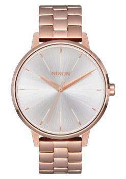 NIXON ROSE GOLD/WHITE KENSINGT