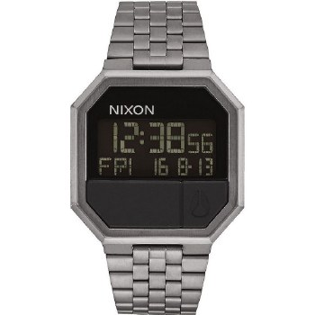 Nixon Re-Run, 38.5 mm All Gummetal