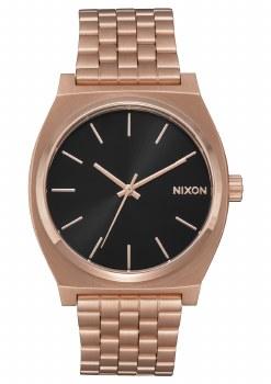 NIXON Time Teller, All Rose Goltone / Black Sunset