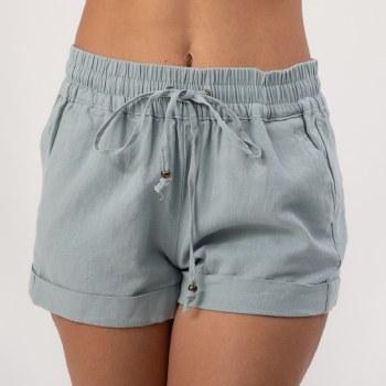 Bronxton Linen Shorts