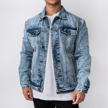 Bronxton Classic 6-Button Denim Jacket