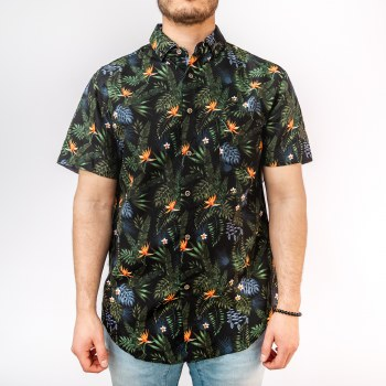 Bronxton Hawaiian Button Down