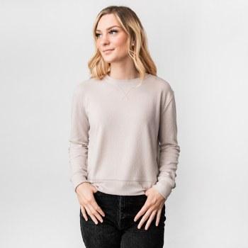 Hyfve Long Sleeve Crew Neck Sweatshirt