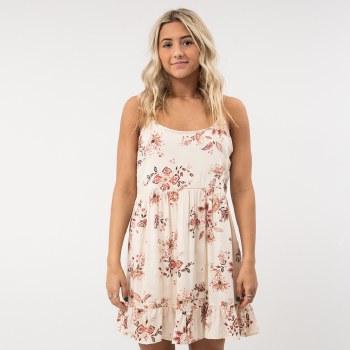 EN Creme Printed Mini Dress
