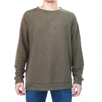 BRONXTON OLIVE FRENCH TERRY CR