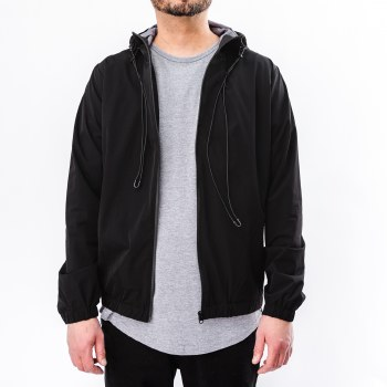 Bronxton Long Sleeve Zip Front Windbreaker