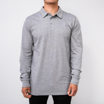 Bronxton Long Sleeve Simple Polo